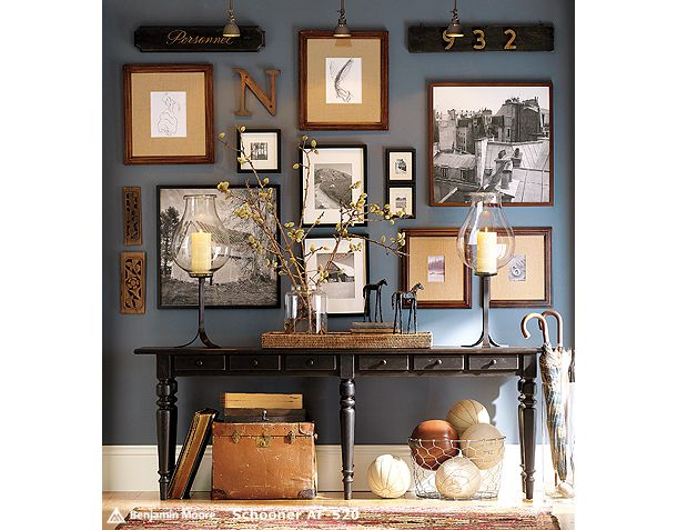 Soldiers Collage Walls Holly Mathis Interiors