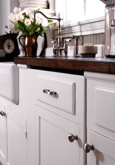 Read More On This Kitchen Here To Find Out How They Mixed High And Low For  Amazing Results.