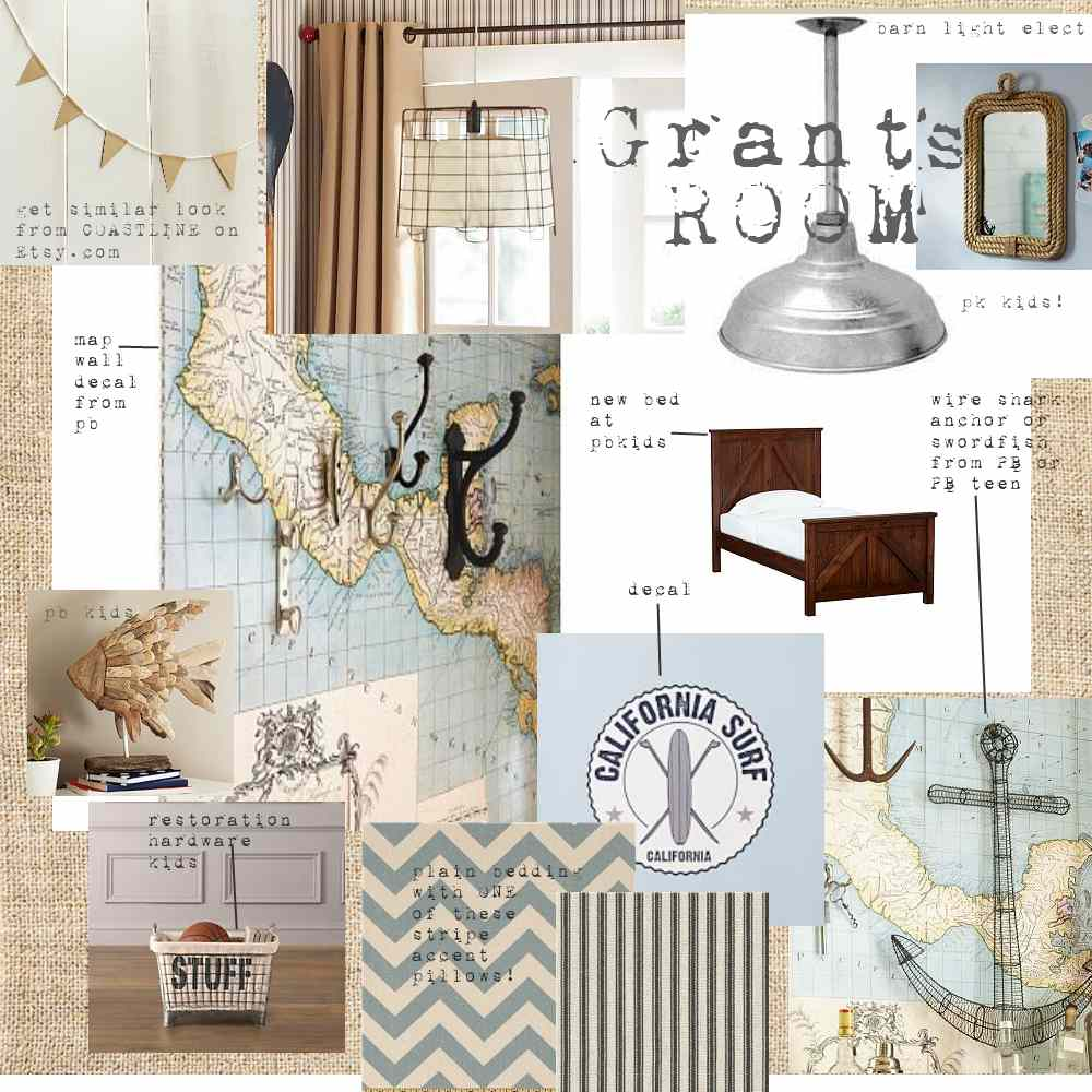 Nautical Inspired Bedrooms Pottery Barn Theme Room Holly Mathis Interiors