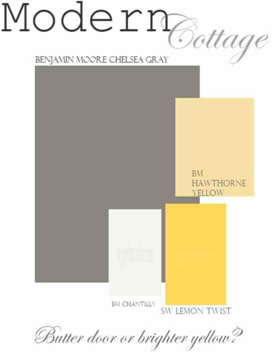 Best Exterior Paint Color To Go With Yellow Joy Studio