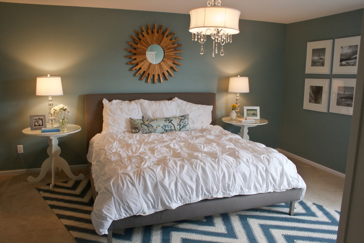 Client master bedroom freshen holly mathis interiors for Master bedroom