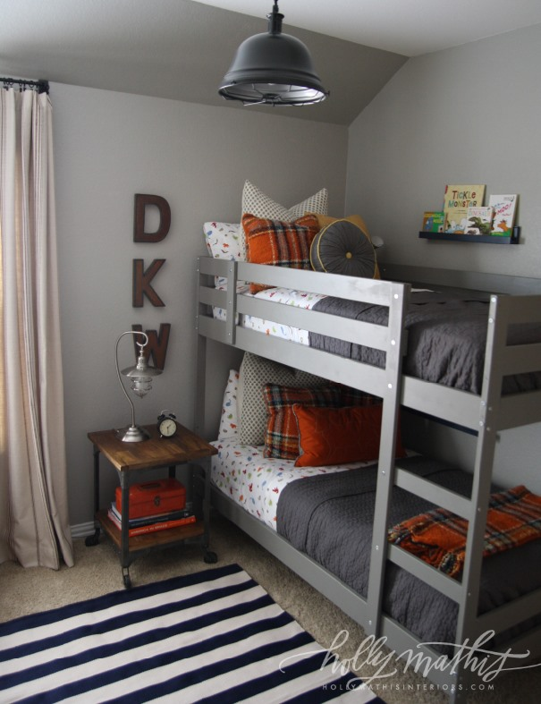 Boys room favorite paint colors blog Bunk bed boys room
