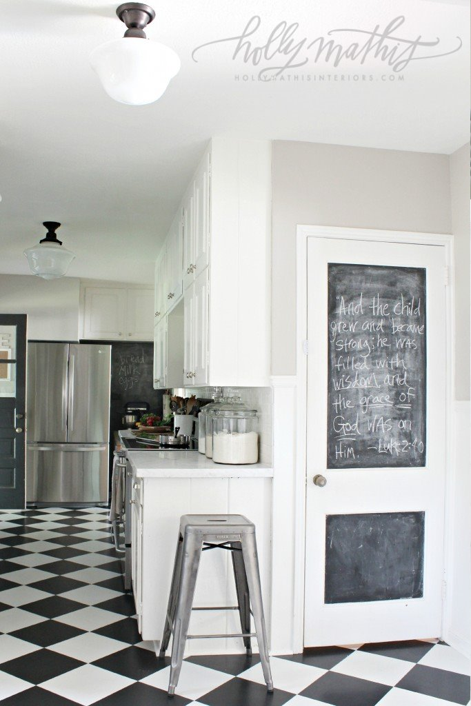 kitchenchalkdoor