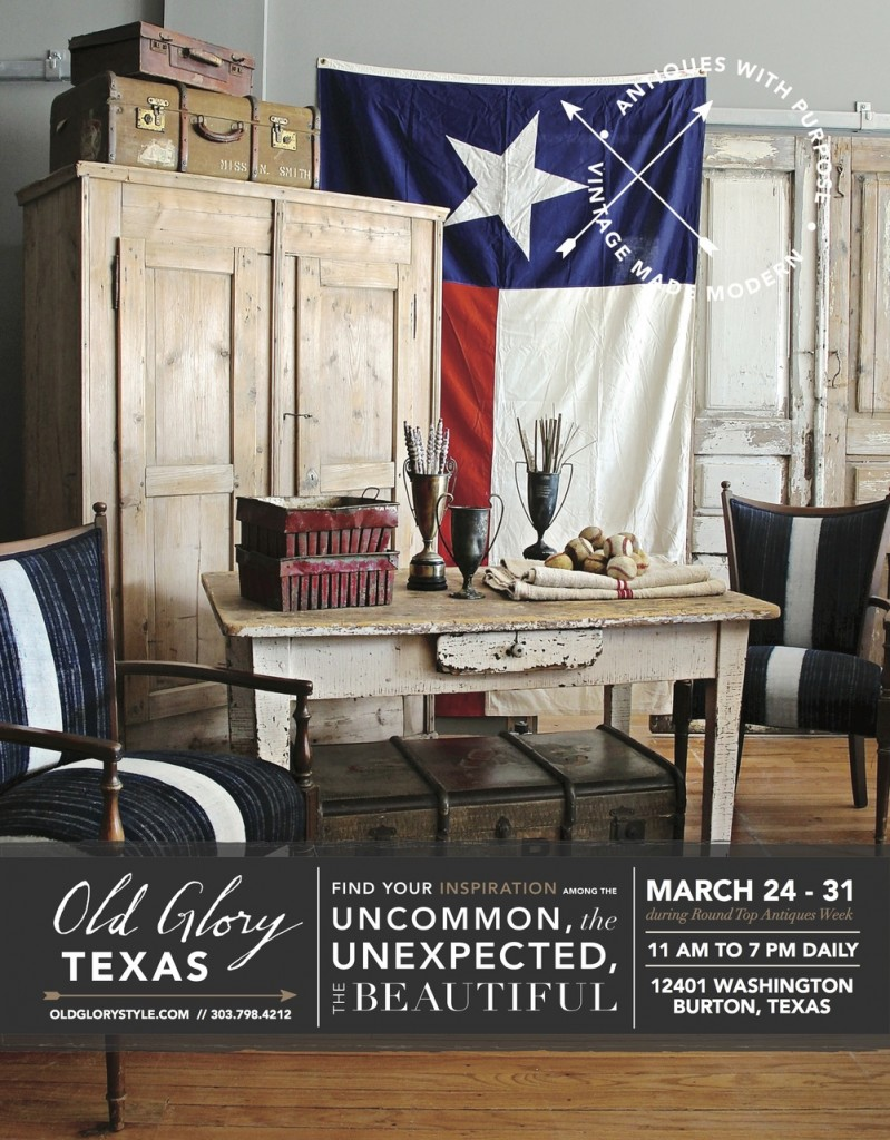 Old Glory + Antique Week Texas!